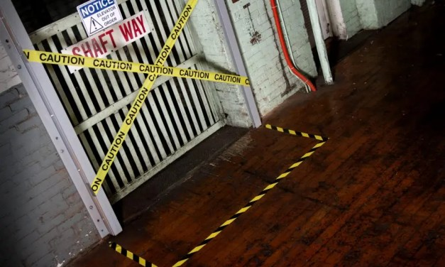 How are barricade tapes used to promote safety?
