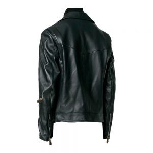 Classic Style Leather Biker Jacket