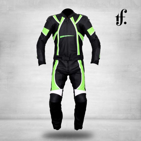 High Quality Mens Motorbike Leather Racing Suit