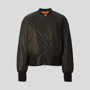 Women Bomber Leather Jackets