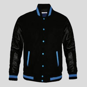Leather Varsity Custom jacket