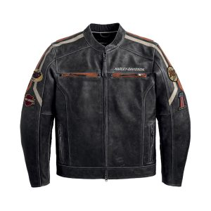 Classic Harley Davidson Motorcycle Leather Jacket