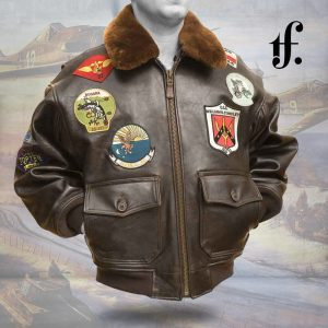 G1 FLIGHT NAVY TOP GUN LEATHER JACKET