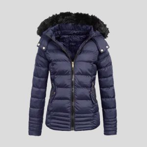 New Blue Bubble Jacket for Women - Tapfer