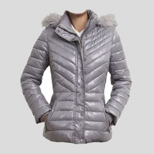 Unique Trimmed Short Puffer Coat – Tapfer