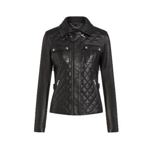 New Bubble Leather Attractive Jacket for Women - Tapfer