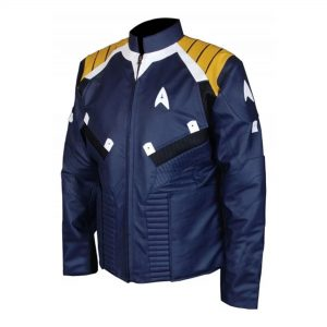 Captain Kirk Chris Pine Star Beyond Star Trek Leather Jacket