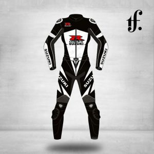 Suzuki Motorbike Leather Racing Suit