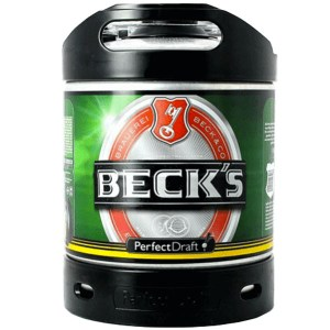 Perfect Draft Becks keg
