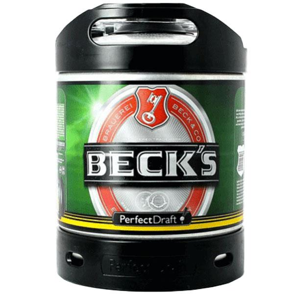 Perfect Draft Becks keg