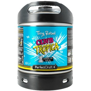 Tiny Rebel Clwb Tropica Perfect Draft keg