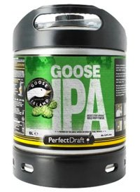 Perfect Draft Goose IPA keg