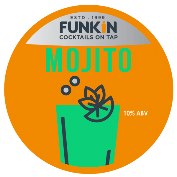 Funkin Mojito Cocktail on tap