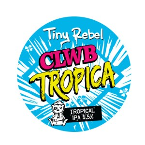 Tiny Rebel Clwb Tropica Key Keg