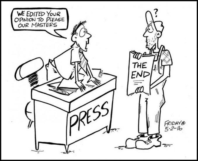 Veteran Farm Cartoonist Fired After 1 Reader Calls His
