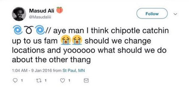 Masud Ali Cries Racism & Gets Chipotle Manager Fired, Truth Comes Out