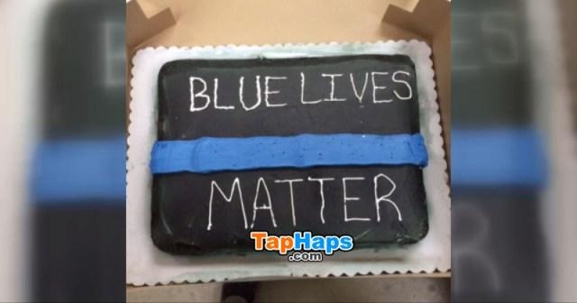 Jordan Harkins cop cake