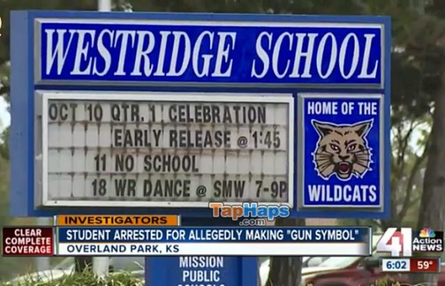 Westridge Middle School Little Girl Arrested For Making Finger Gun At School Charged With Felony
