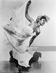 Katherine Dunham 1909-2006, American dancer, choreographer, author, educator and social activist. Directed her own dance company for many years.