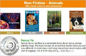 Rescue Me Wins 2014 Readers Favorite Book Award