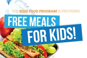Free Meals for Kids