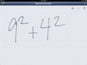 MyScript Calculator - Write On Your Calculator