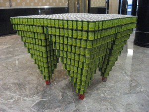 Canstruction Real World Math Problem