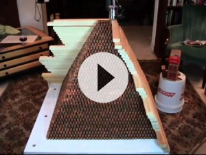 Pyramid of Pennies Real World Math Problem