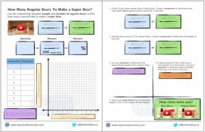 Super Bear 3 Act Math Task Template Screenshot 2