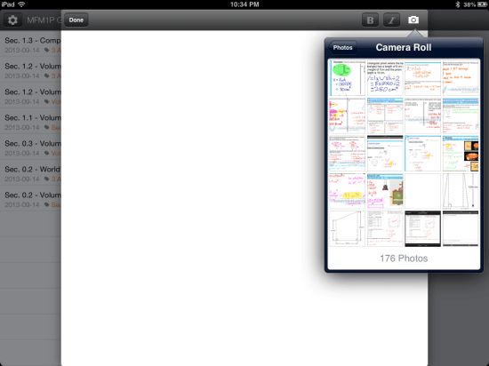 Inserting a Photo into a Blogger Blog Post on iPad