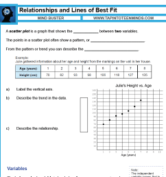 3.2 - Relationships and Lines of Best Fit   Scatter Plots \u0026 Trends [ 1548 x 1548 Pixel ]