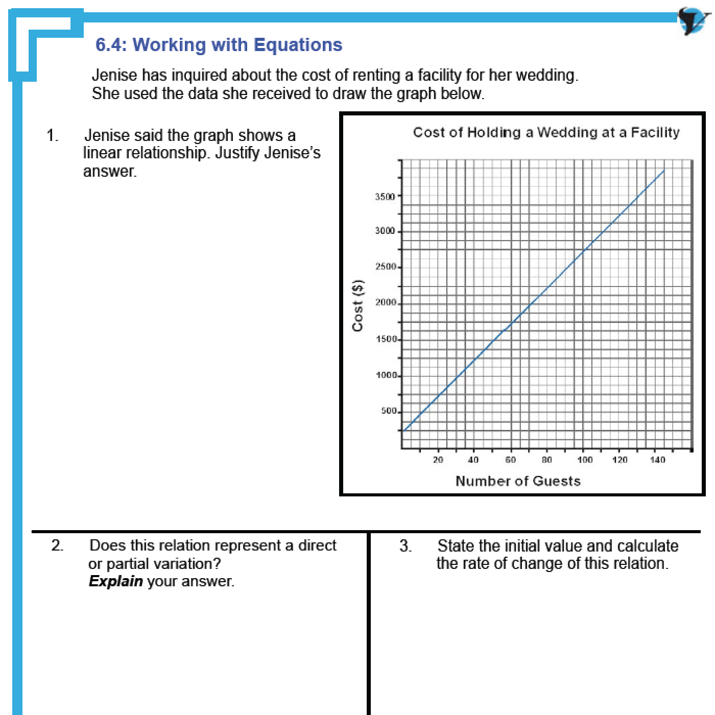 hight resolution of Functions Of Linear Relationship Worksheets   Printable Worksheets and  Activities for Teachers