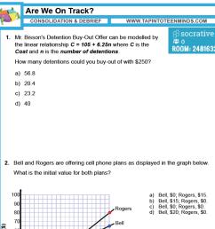 Rate of Change   MFM1P Grade 9 Applied Math Help [ 1390 x 1390 Pixel ]