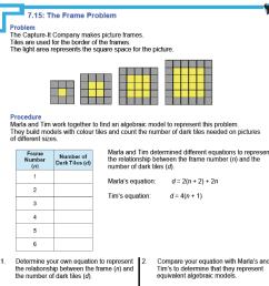 MFM1P Grade 9 Applied Math Help Resources   Handouts [ 1400 x 1400 Pixel ]
