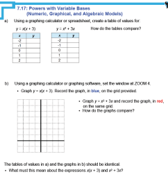 MFM1P Grade 9 Applied Math Help Resources   Handouts [ 1400 x 1400 Pixel ]