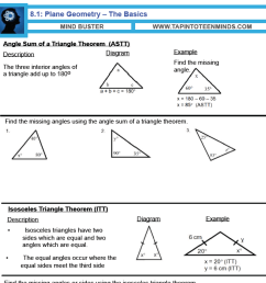 8.1 - Angle Relationships in Triangles and Parallel Lines   Gr 9 Math [ 1394 x 1394 Pixel ]