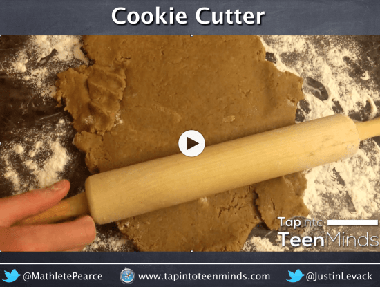 Cookie Cutter 3 Act Math Task by Kyle Pearce   Area of Composite Figures