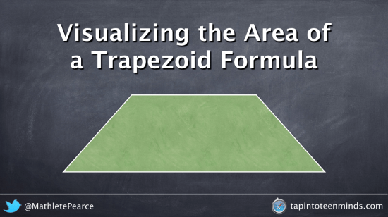 how to find the area of trapeziod