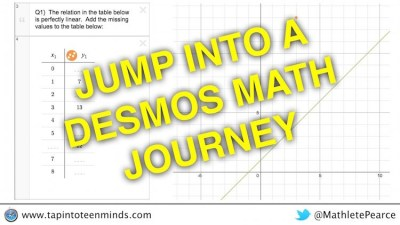 Jump Into a Desmos Math Journey: Representations of Linear Relations