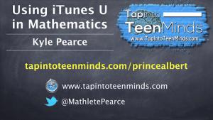 Using iTunes U in Math Class Professional Development for Prince Albert Grand Council