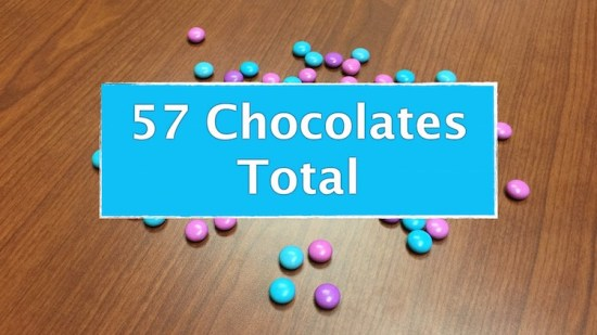 Counting Candies Sequel - Total Number of Candies