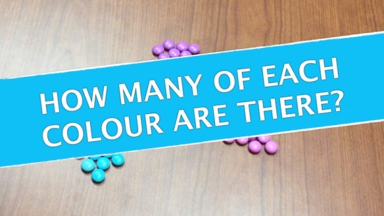 Counting Candies - How Many Of Each Colour? Systems of Equations