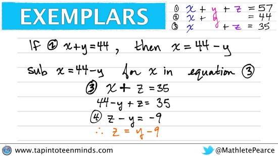 Counting Candies Sequel Exemplar With LONG System of Equations