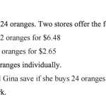 Why We Must Model The Interconnections in Math - Orange-Gi EQAO Sample Open Response Unit Rate Problem