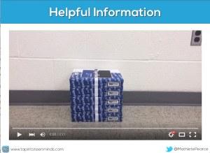 Stacking Paper Tasks iBook - Act 2 Helpful Information