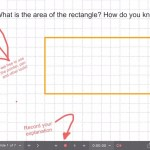 Explain Everything Area Investigation Learning Journey - 1 Area of Rectangle