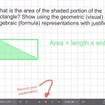 Explain Everything Area Investigation Learning Journey - 3 Area of Triangle Discovery