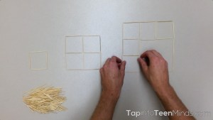 Placing Toothpicks Sequel 3 Act Math Task - Identifying Linear and Non-Linear Relations