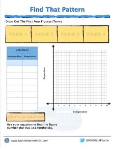 Placing Toothpicks Part 3 - 3 Act Math Task Template Screenshot