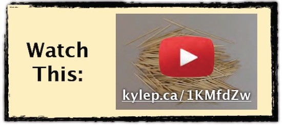 Placing Toothpicks Part 4 - Watch This Video Hyperlink